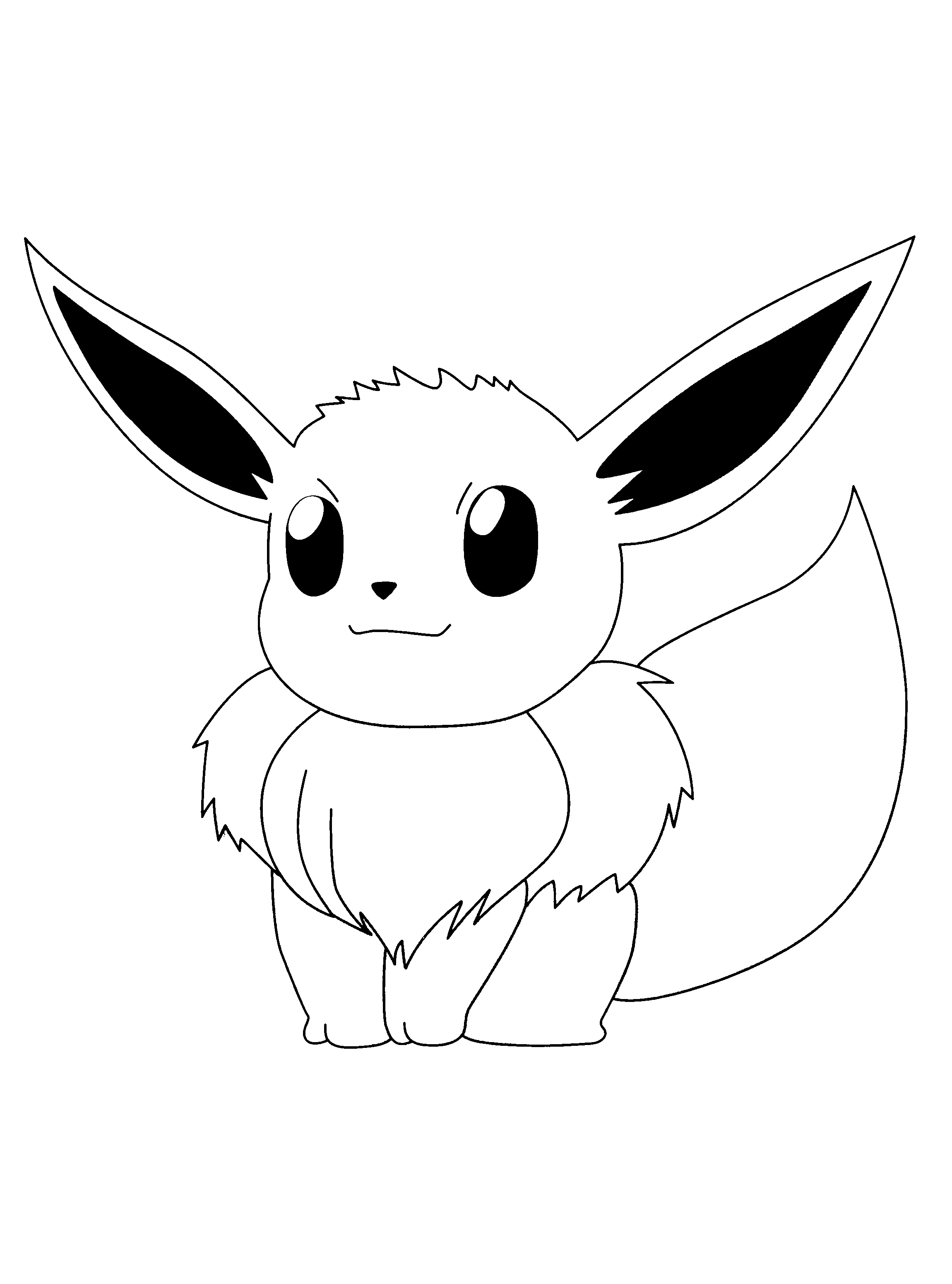 pokemon coloring pages - Pokemon Pictures To Print Out