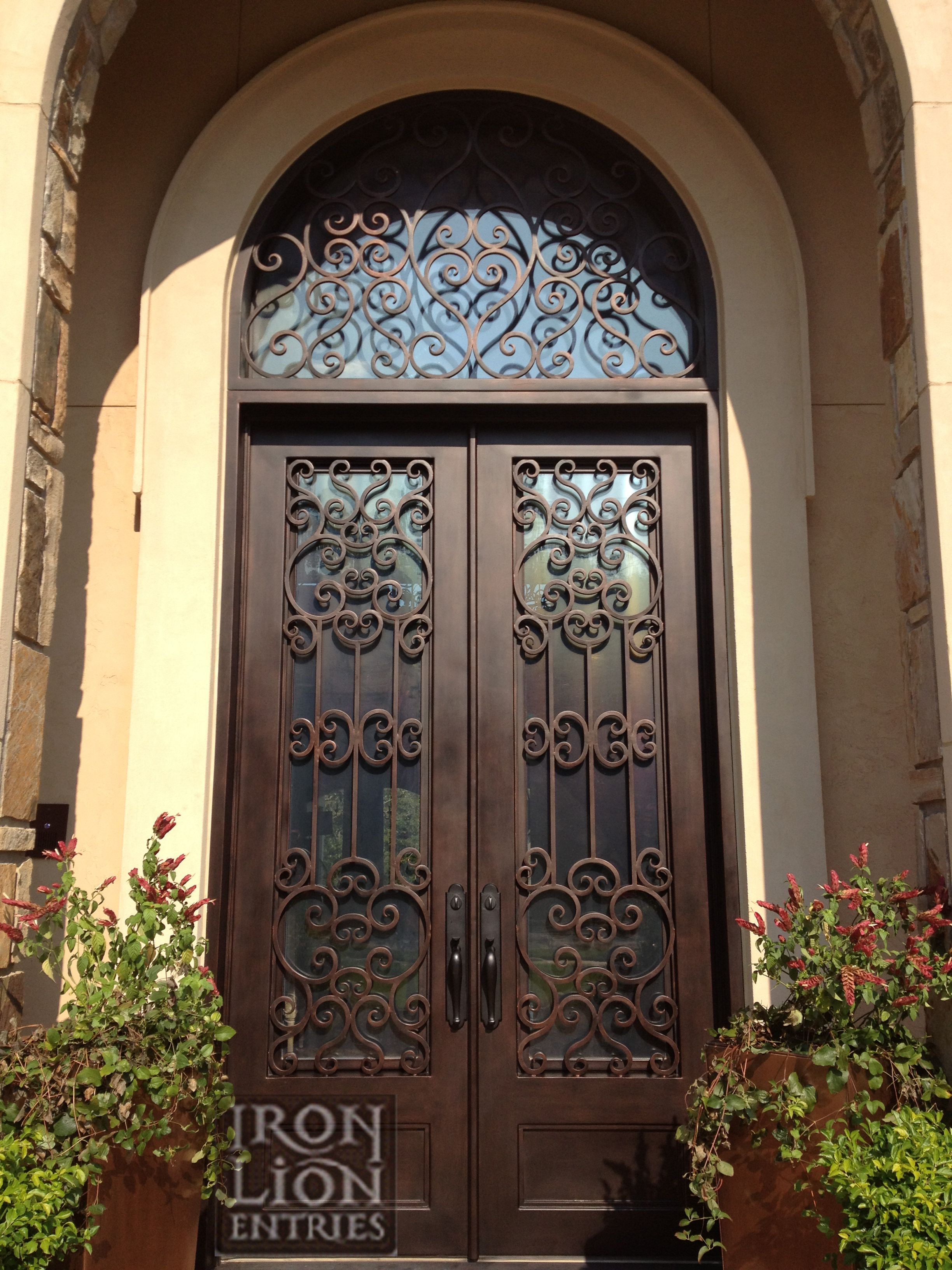 Custom iron door front entry door wrought iron door iron front custom iron door front entry door wrought iron door rubansaba