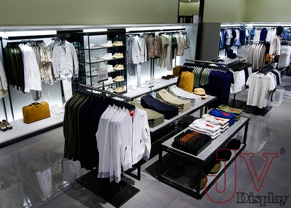 Large Clothes Showroom Interior Design With Display Furniture For Sale Large Clothes Sho Showroom Interior Design Clothing Store Interior Clothing Store Design
