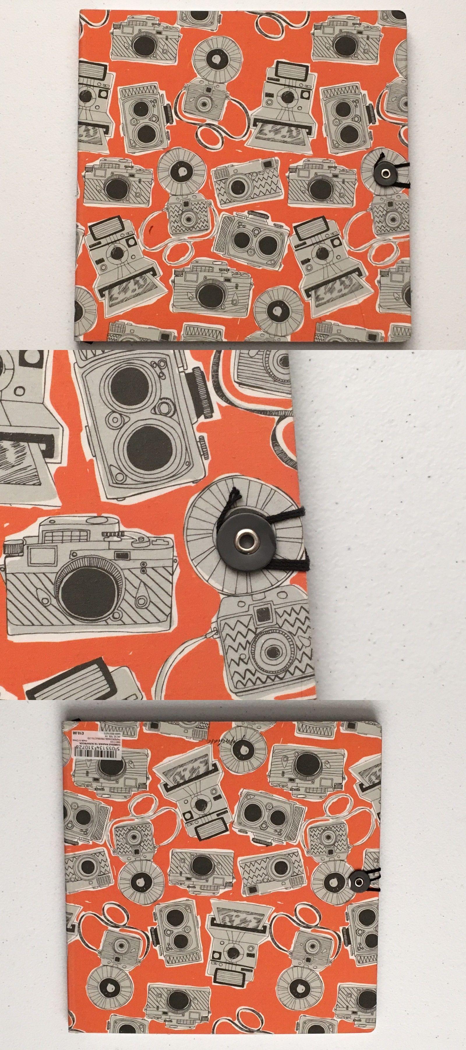 Scrapbooking Albums And Refills 183248 Orange Paperchase Scrapbook
