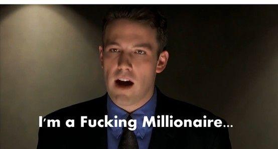 Ben Affleck In Boiler Room. Classic Speech