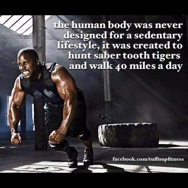 """Sedentary Lifestyle: """"The Human Body Was Not Designed For A Sedentary Lifestyle"""