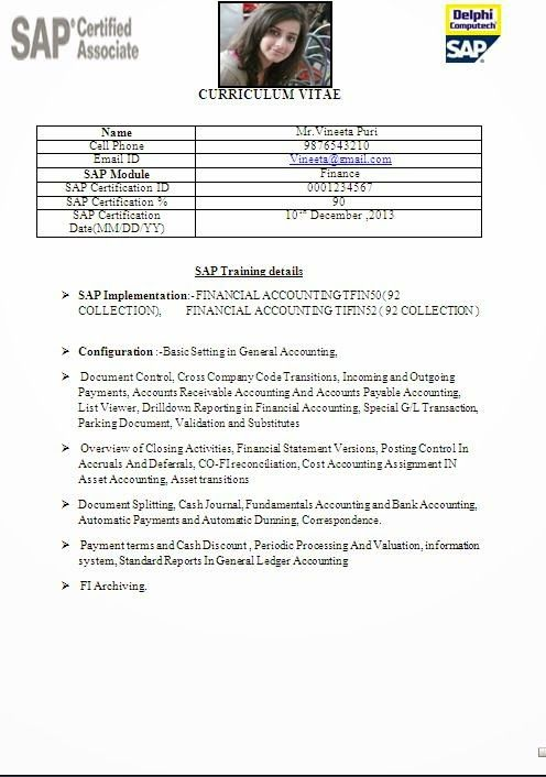 cv resume examples Sample Template Example ofExcellent Curriculum - resume name examples