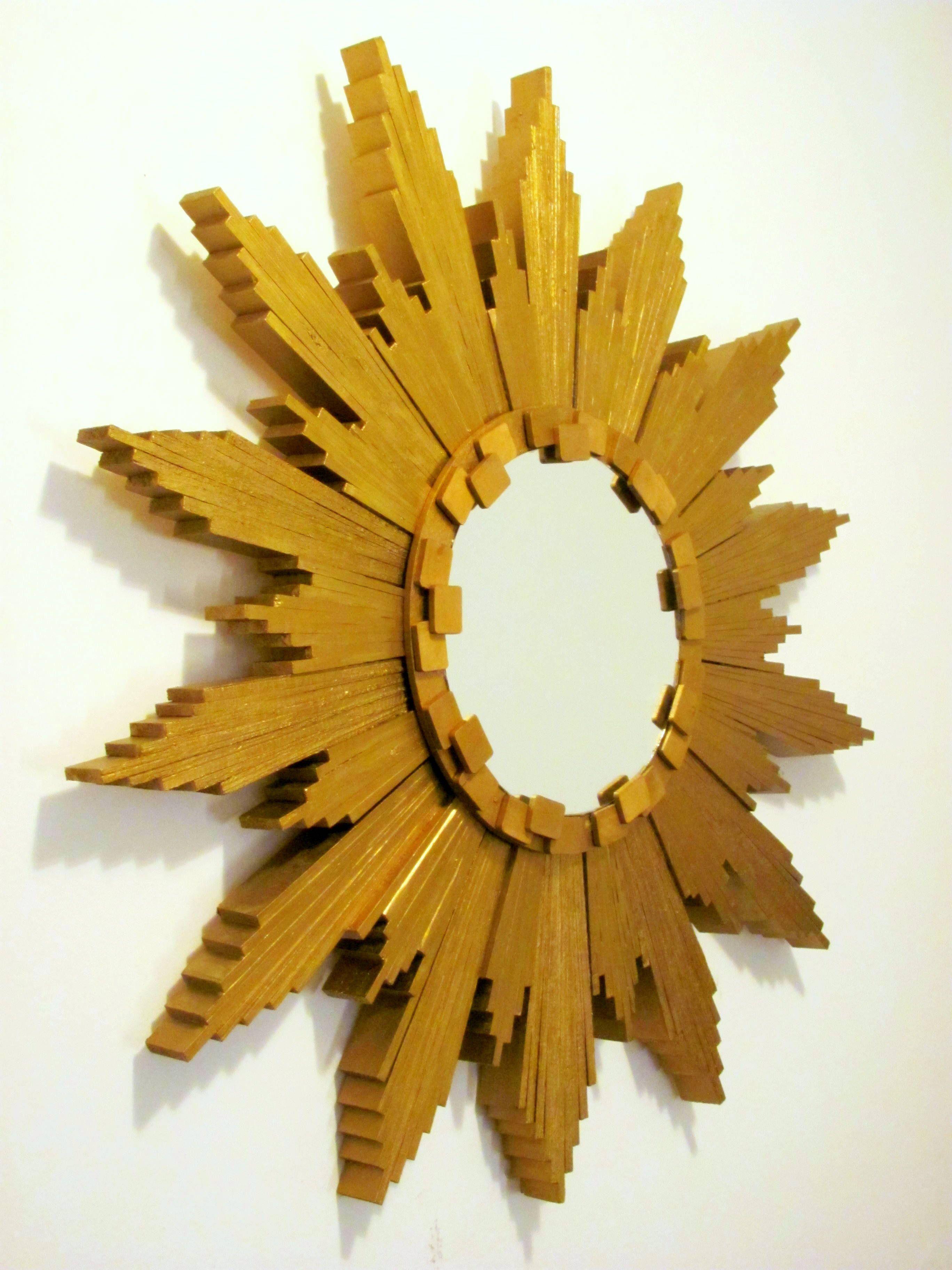 Sunburst Mirror (with Wood Shims) - DIY | Diy Furniture | Pinterest ...