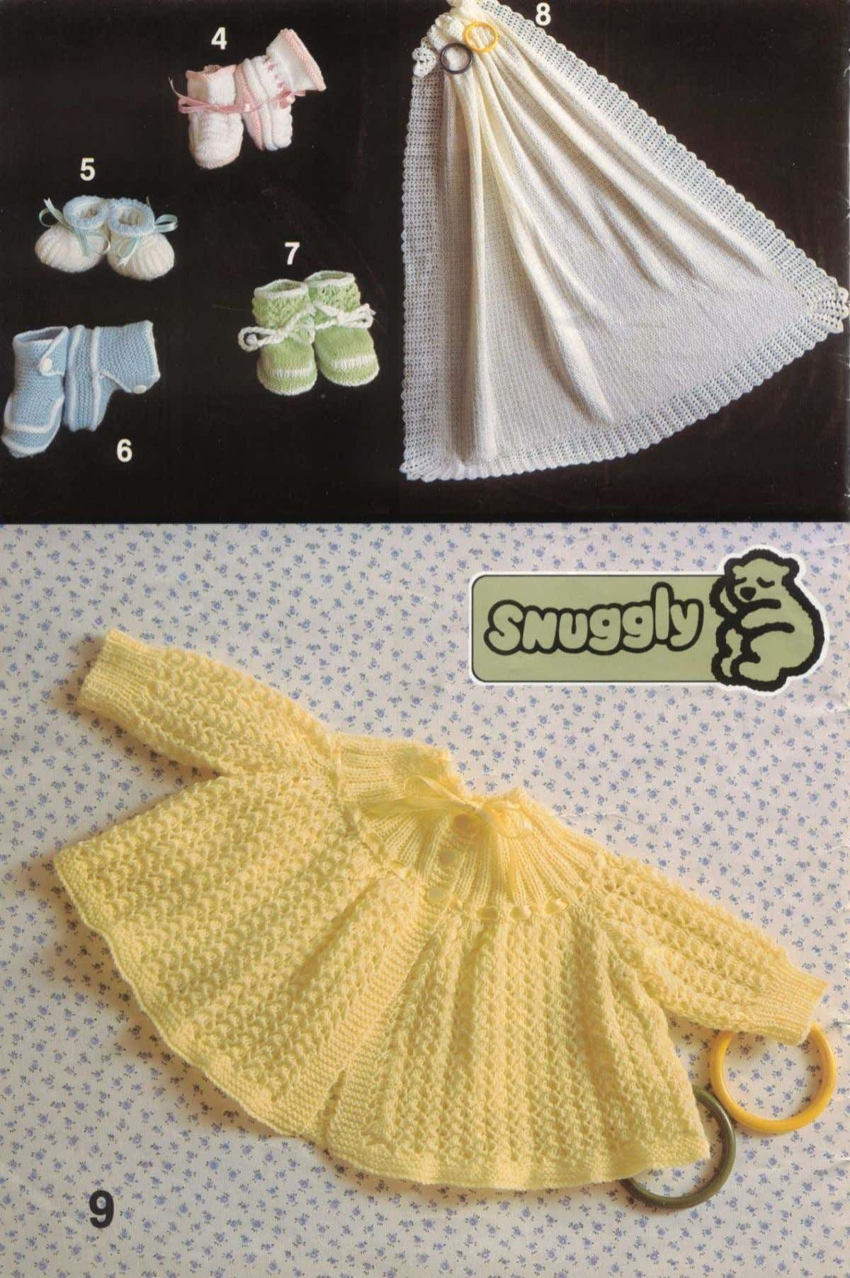 Sirdar 511 Baby Layette Knitting Pattern | Knitting ...