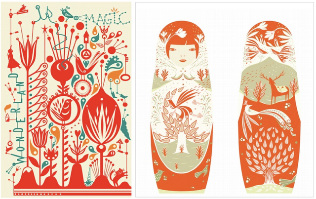 Habit Of Art Art And Fashion With A Scandinavian Flair Scandinavian Folk Art Scandinavian Art Russian Folk Art