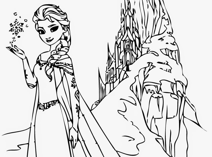 Coloring Sheets For Girls Frozen Di 2020