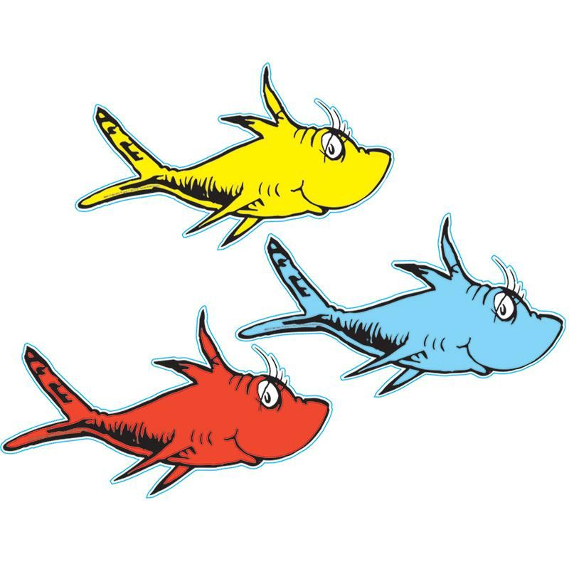 Dr Seuss One Fish Two Fish Paper Dr Seuss Baby Shower Seuss Classroom Seuss Baby Shower