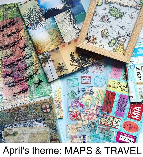 Subscription Box Art Journaling