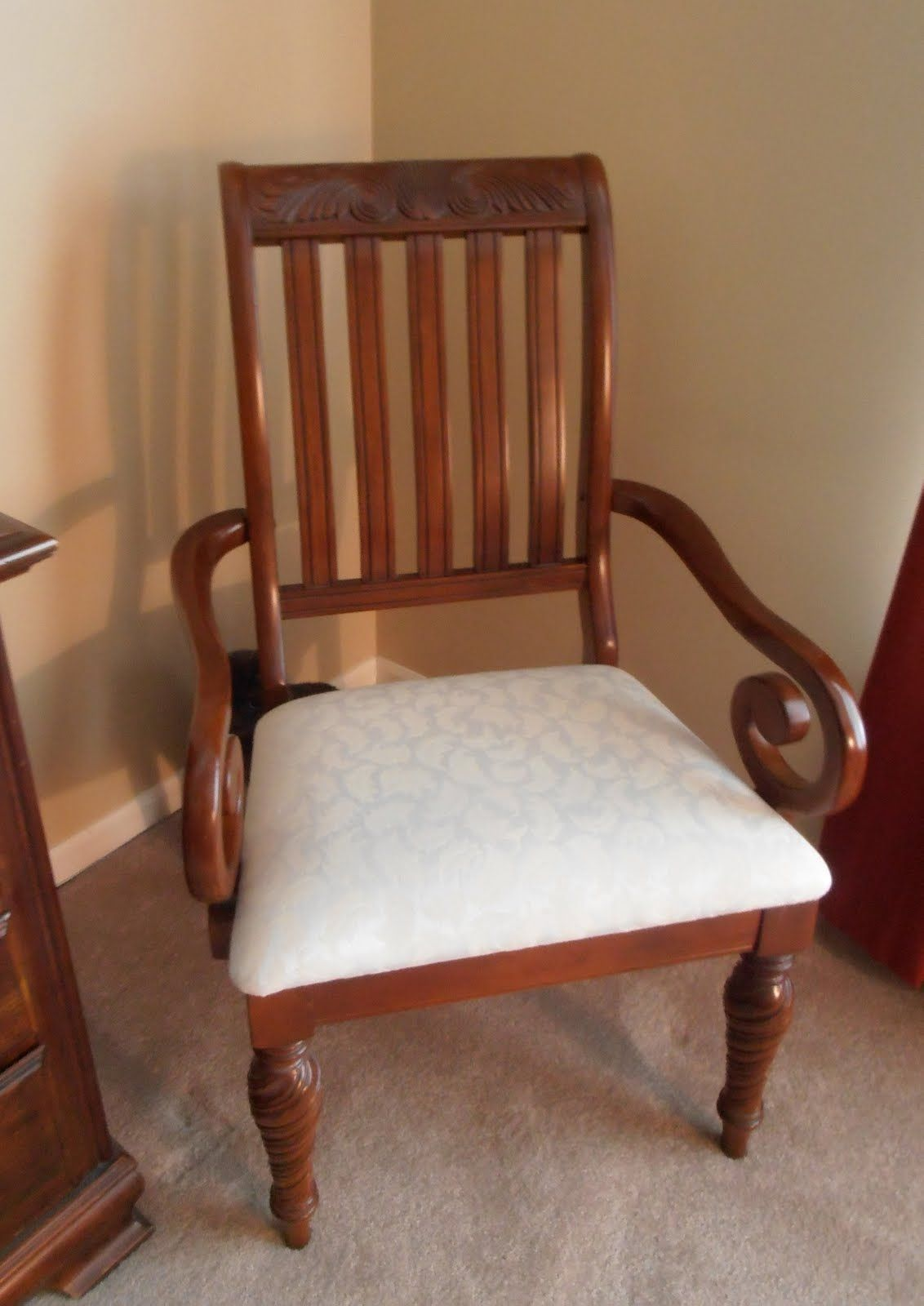 New Seat Cushions for Dining Room Chairs | Dining room chair ...