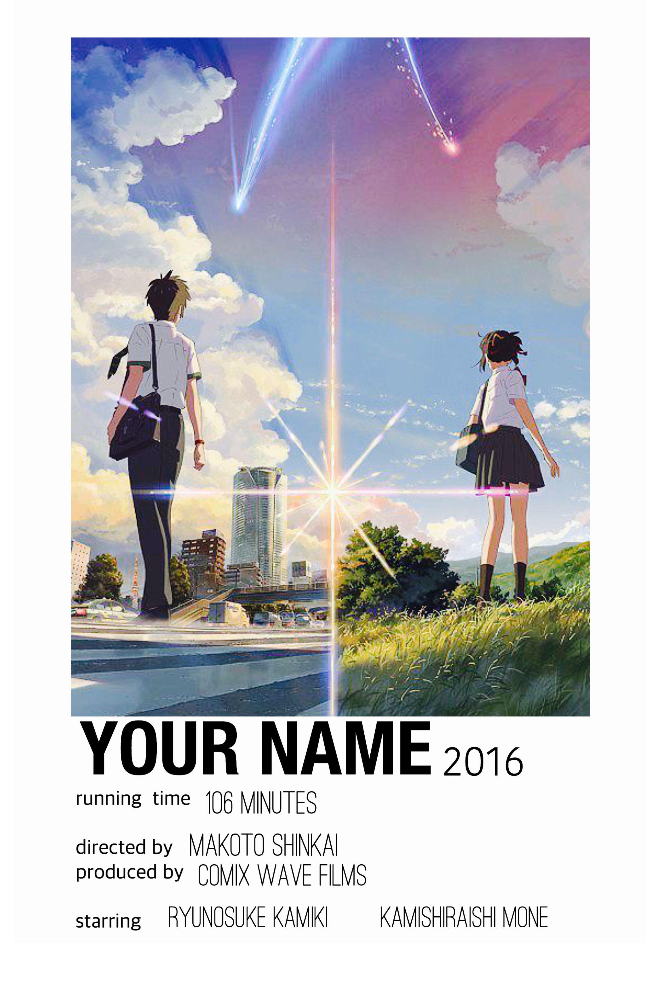 film posters minimalist anime