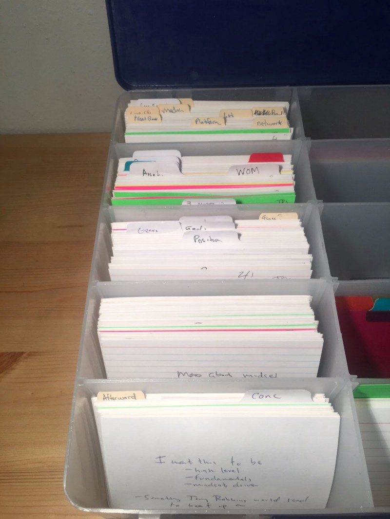 The Incredible Creative Power Of The Index Card Index Cards Study Notes Study Hard