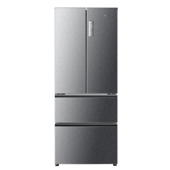 Haier B390tgaas Refrigerateur Multi Portes 382l 274 108 Froid Ventile A L 70cm X H 180 4cm Silver Porte Alu Refrigerateur Refrigerateur Congelateur