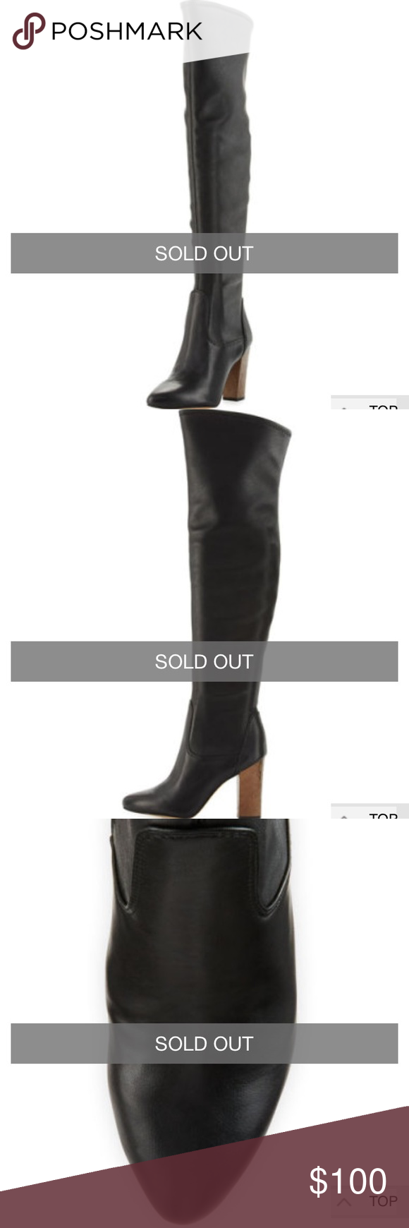Brooklyn Over the Knee Boot Purchased from Neiman Marcus. Only worn a few times, excellent condition. Faux leather. Very comfortable! Sold out in stores. Circus by Sam Edelman Shoes Over the Knee Boots