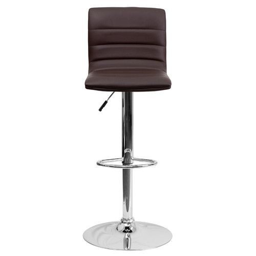 Found it at Wayfair - Clay Contemporary Vinyl Adjustable Height Swivel Bar Stool…
