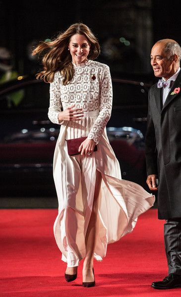 """Catherine, Duchess of Cambridge, Patron of Action on Addiction, attends the UK Premiere of """"A Street Cat Named Bob"""" in aid of Action On Addiction on November 3, 2016 in London, United Kingdom."""