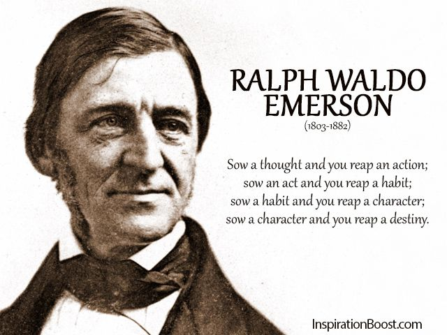 emerson s individualism Emerson's argument for self-reliance as a significant factor in a flourishing life emerson's commitment to individualism, to personal freedom and.