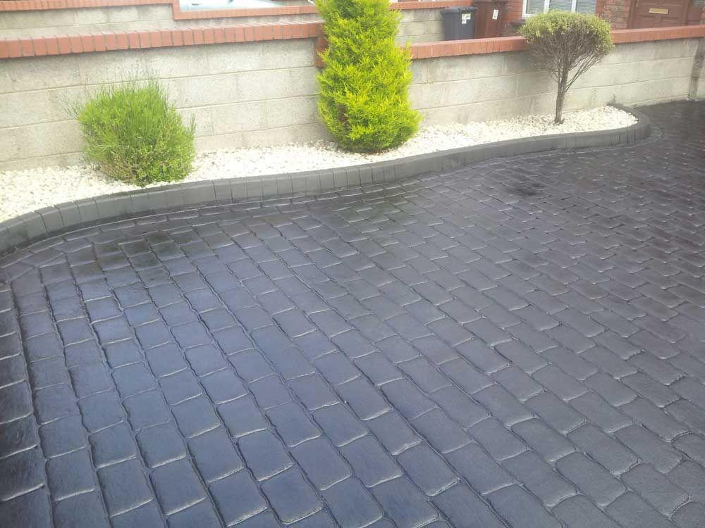 Le Beton imprimé est une décoration extérieur utilisé pour votre - beton decoratif pour terrasse