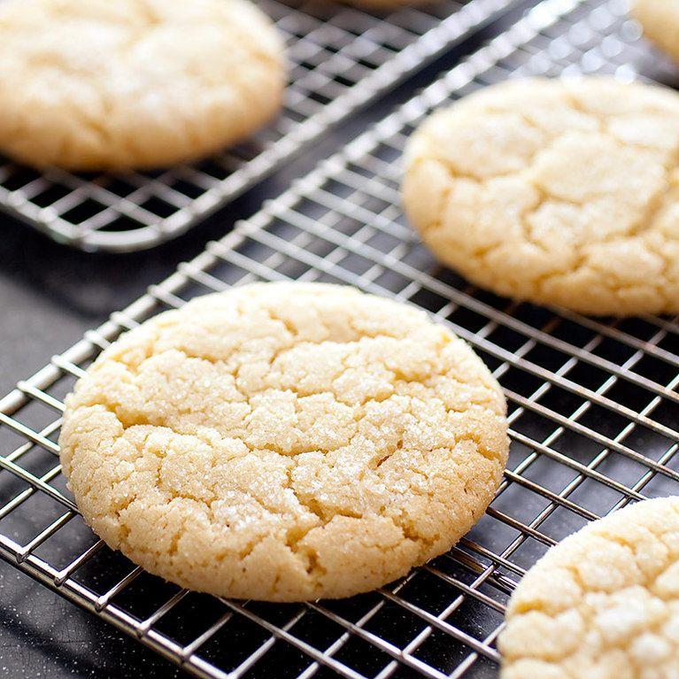 Chewy Hazelnut Brown Butter Sugar Cookies