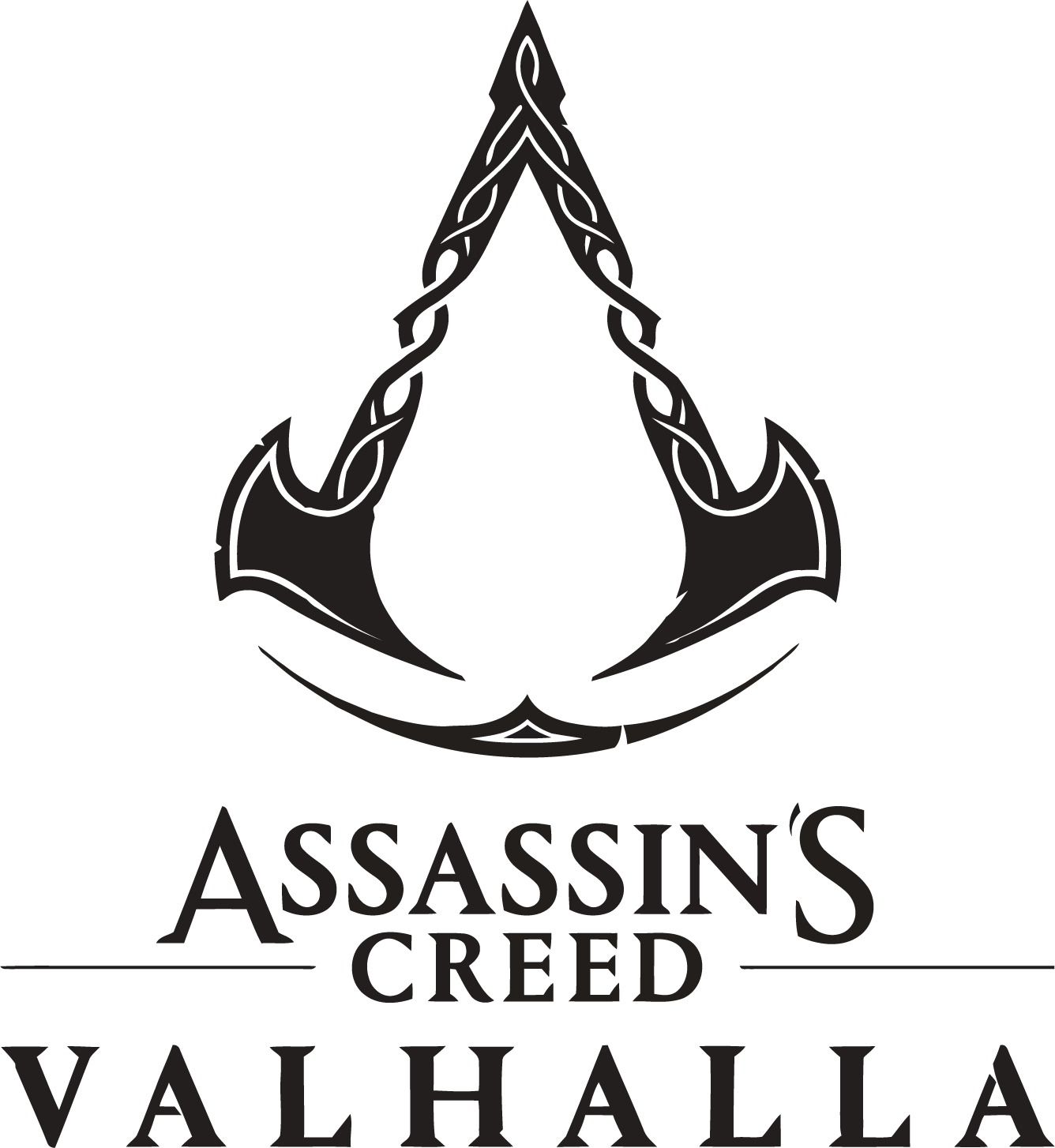 Assassin S Creed Valhalla Logo In 2021 Creed Assassin S Creed Assassins Creed