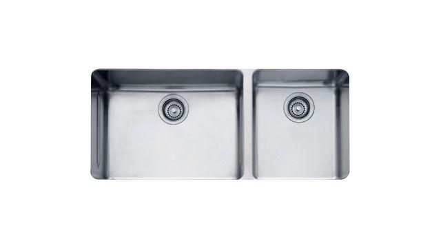 Buy Franke Sinks In Mass Double Bowl Kbx12039 Stainless Steel