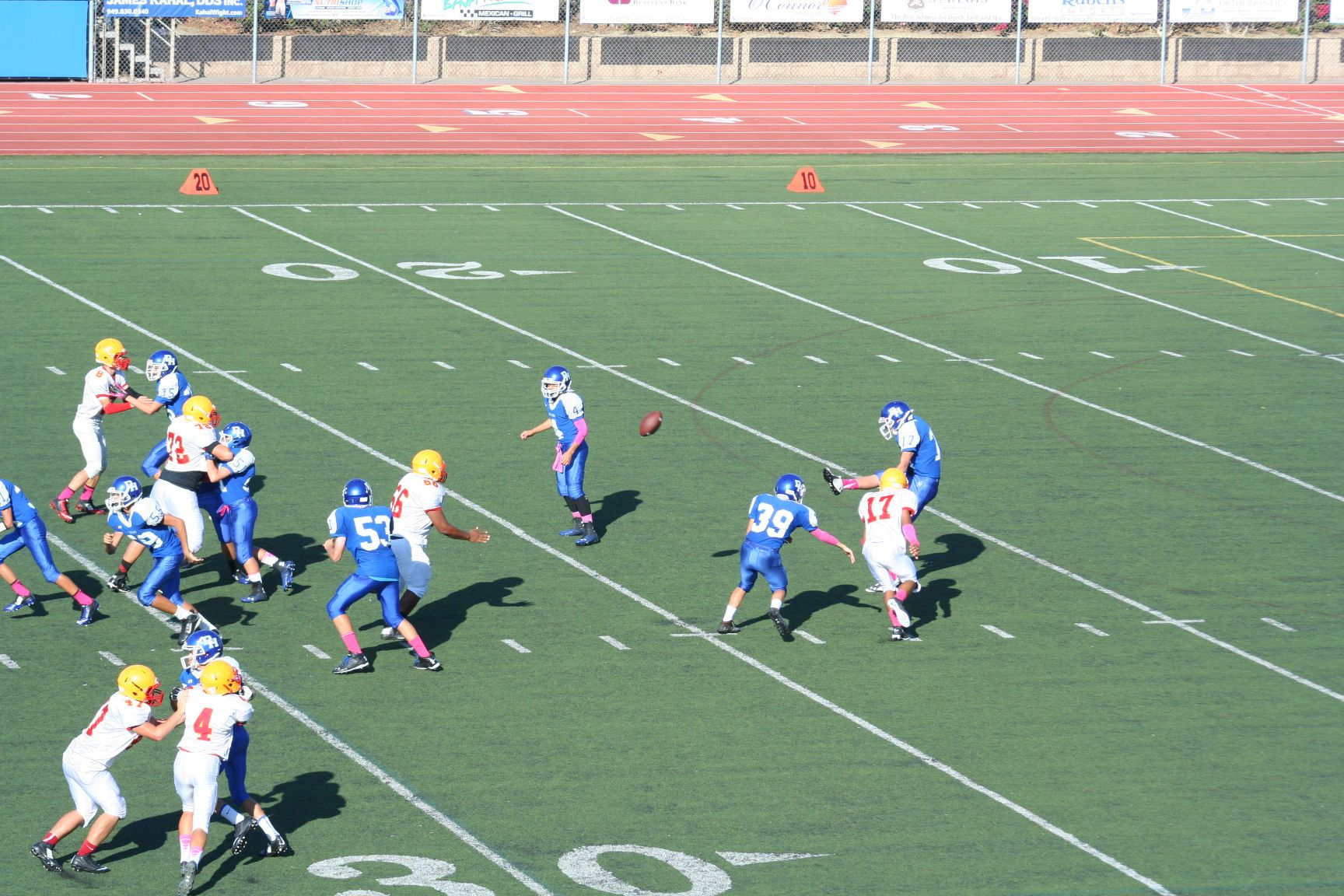 Dana Hills High School Football Highschool Freshman High School Football High School