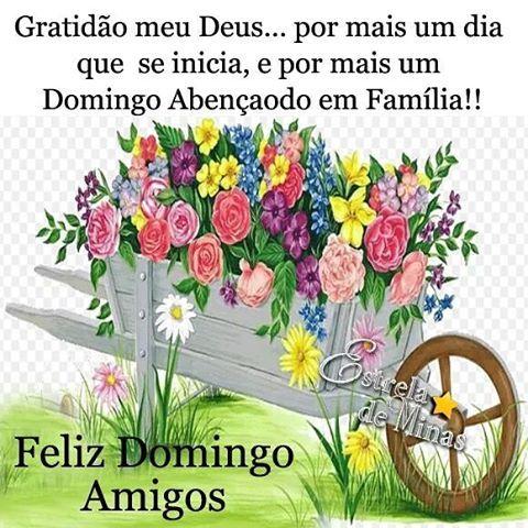 Bom Dia Meus Amigos Feliz E Abençoado Domingo Cheio Das Maravilhas