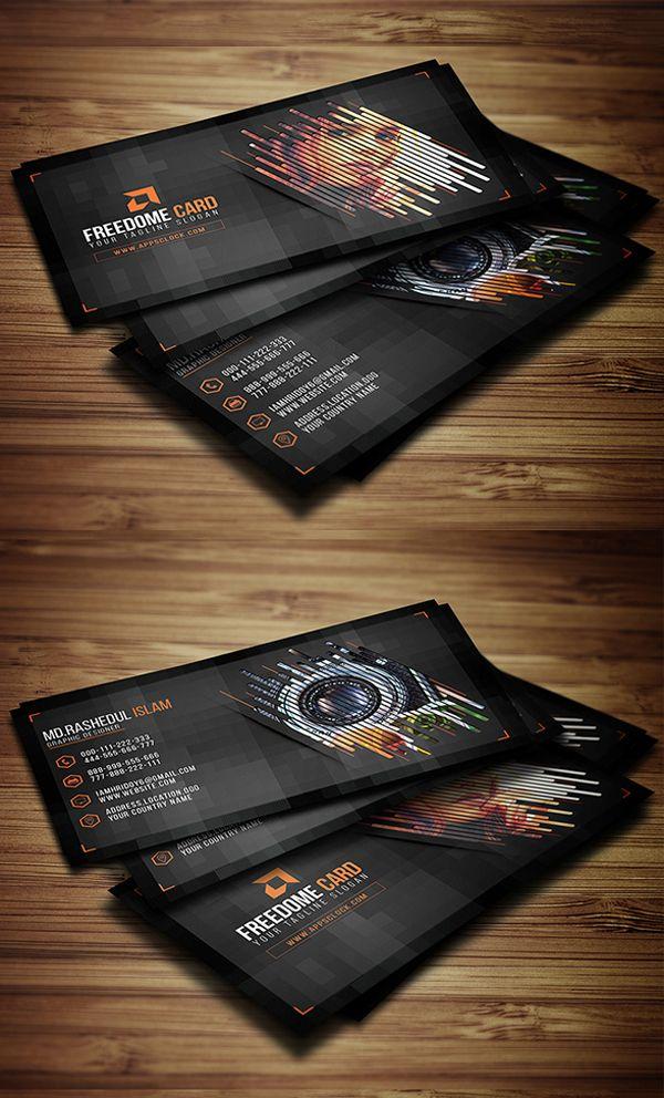 Photography Business Card Design | reference: cards / cartões de ...