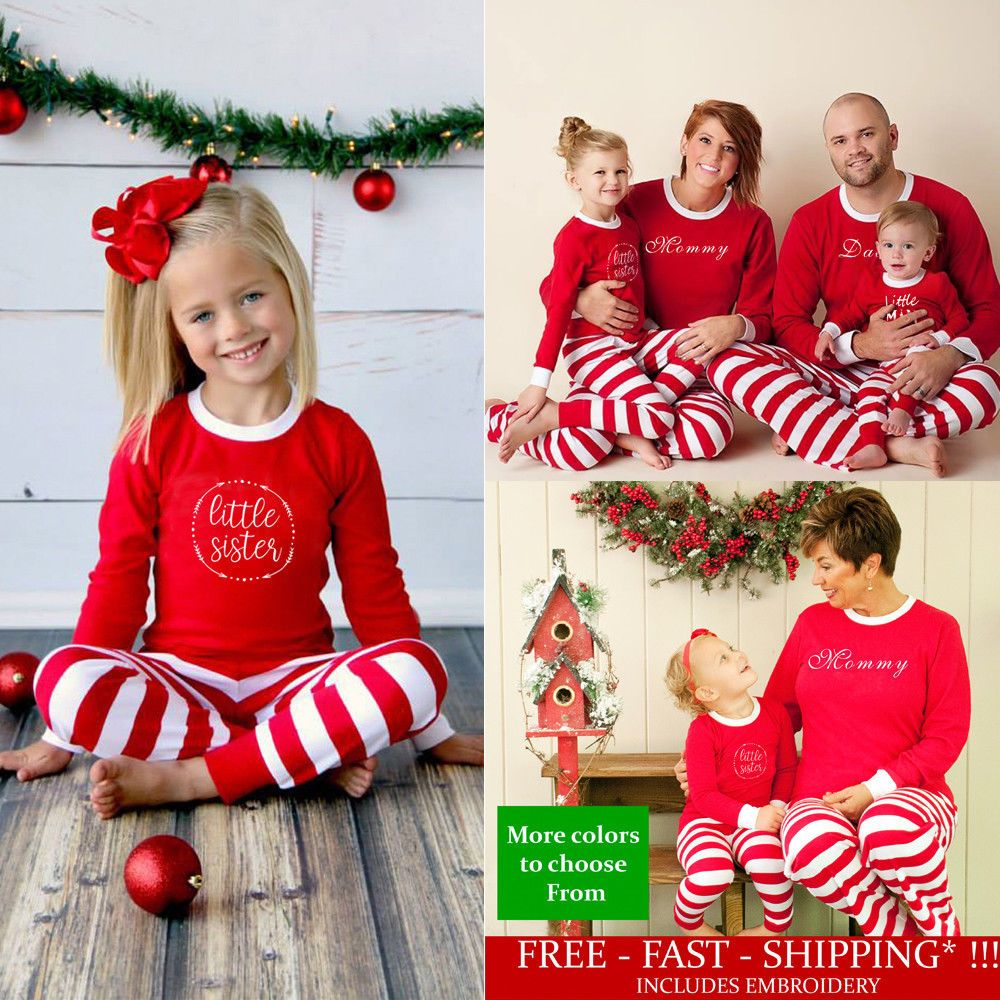5a508d6bbf Christmas Jumpsuit Family Matching Pajamas Set Xmas Sleepwear Nightwear  Pyjamas  fashion  clothing  shoes