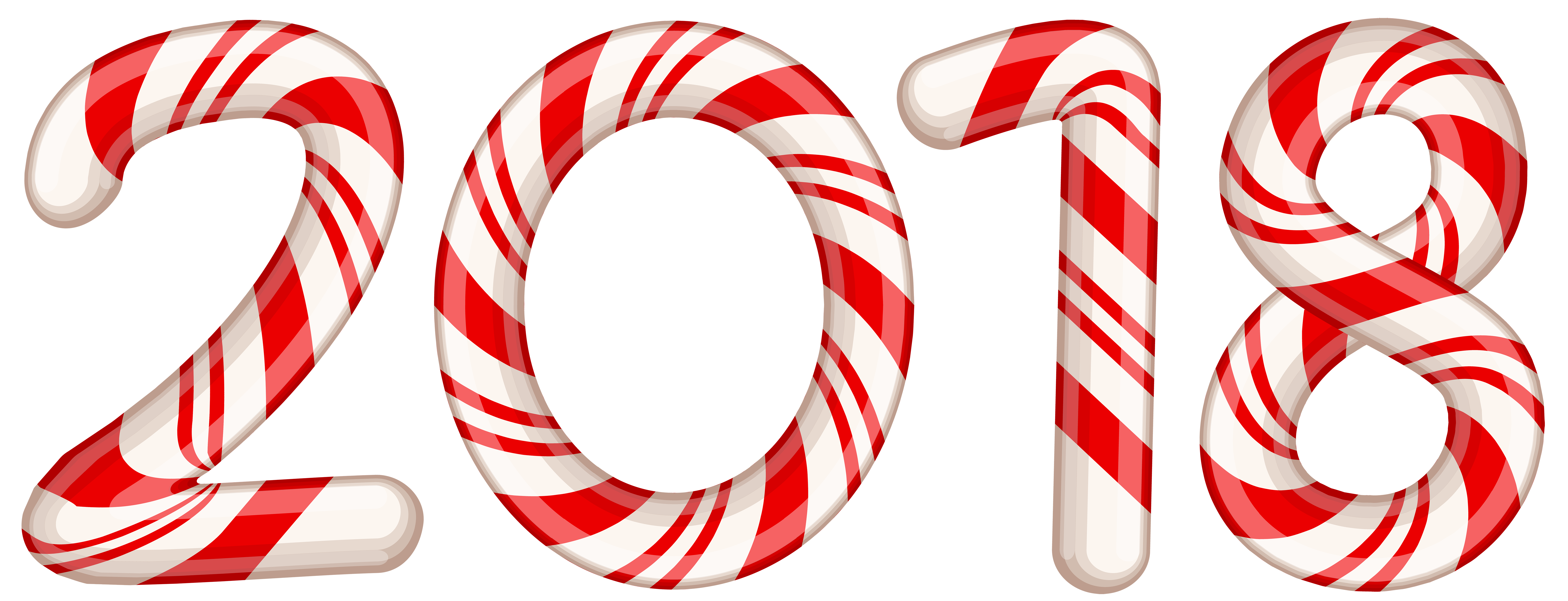 2018 Candy Cane Red PNG Clip Art Image Gallery
