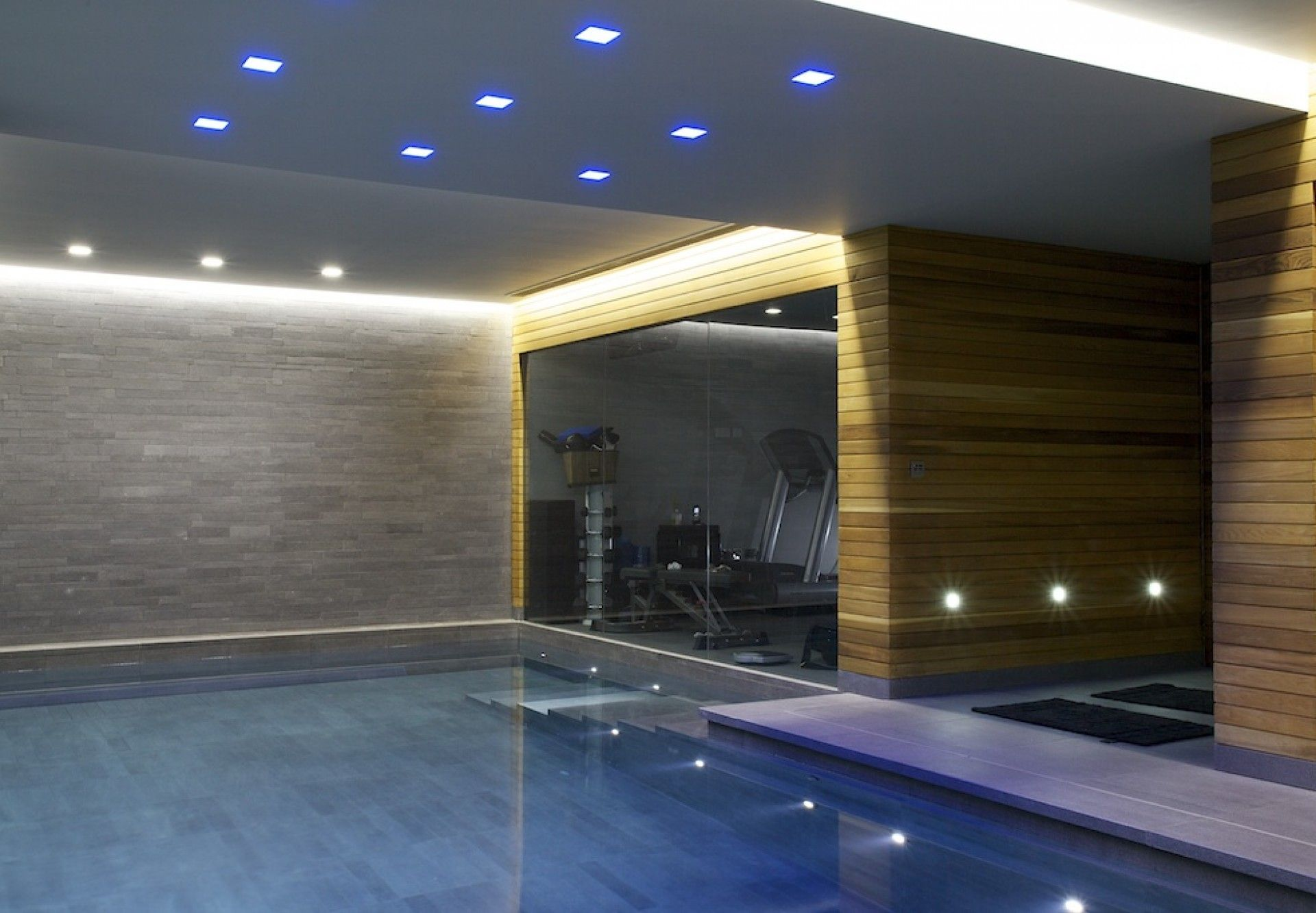 finished basement steam room | basement swimming pool in london