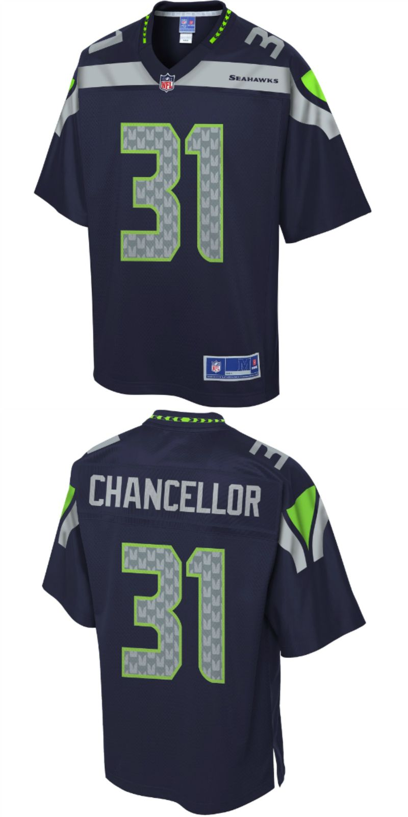 cda1304d1 UP TO 70% OFF. Pro Line Men's Seattle Seahawks Kam Chancellor Team ...