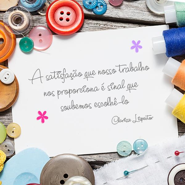 Artesanato De Olinda Pernambuco ~ Pin de Marília Cruz em Amo artesanato Pinterest Frases, Costureira e Mensagem