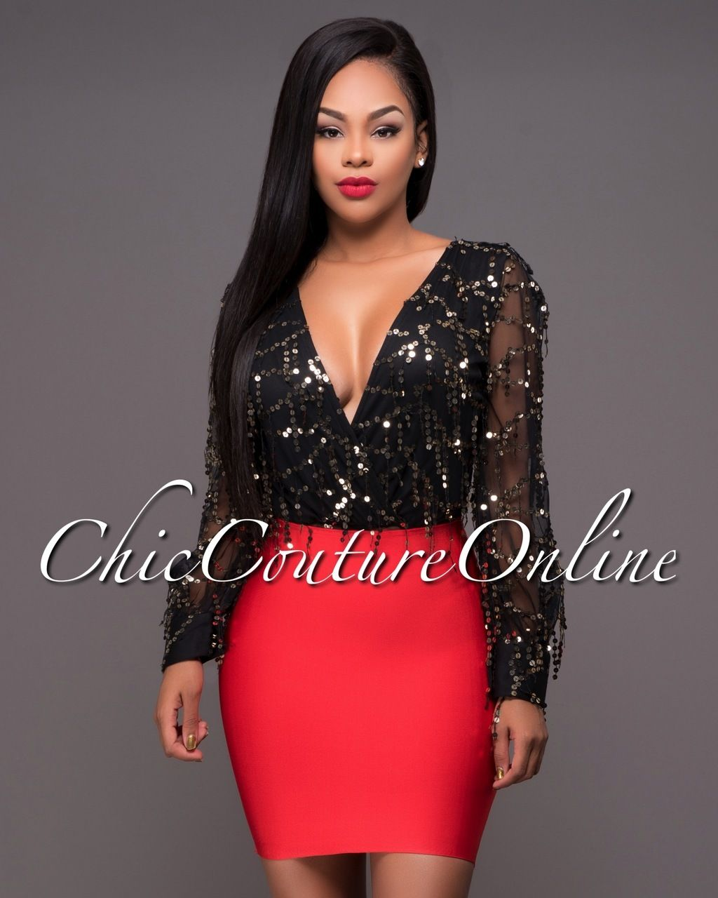 Chic Couture Online - Wynn Red Elastic Body-Con MiniSkirt.(http://www.chiccoutureonline.com/wynn-red-elastic-body-con-miniskirt/)