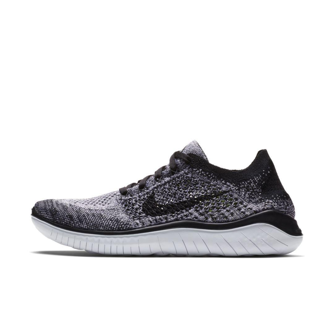 a16885d1f215 Nike Free RN Flyknit 2018 Women s Running Shoe Size 9.5 (White ...