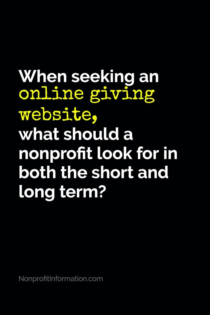 How to Ask for Donations Online - Online Donations for ...