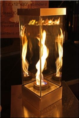 Indoor Fire Features | ... Fire Pits. Commonly Known As Fire Crystals Fire