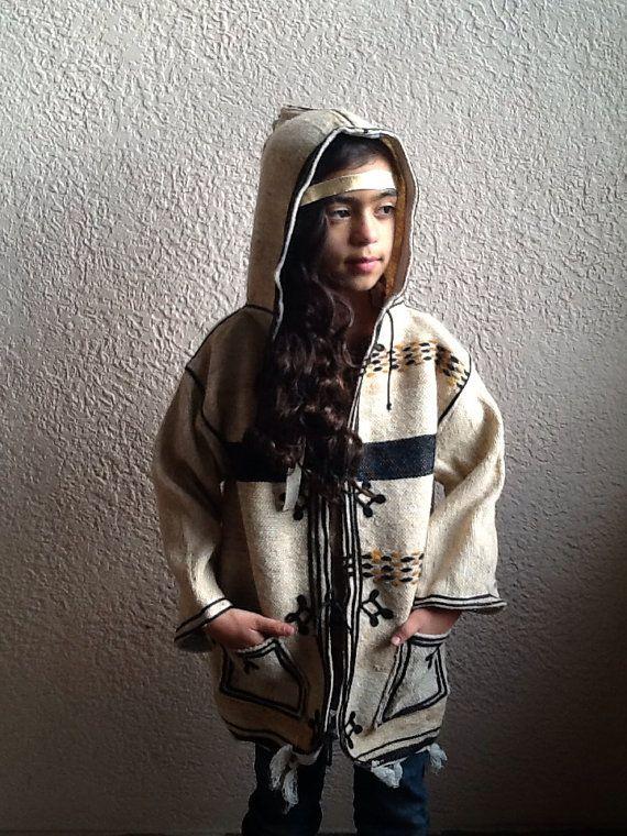 Very best Moroccan Blanket Jacket / Girls Wool Jacket / Boho Jacket  CL01