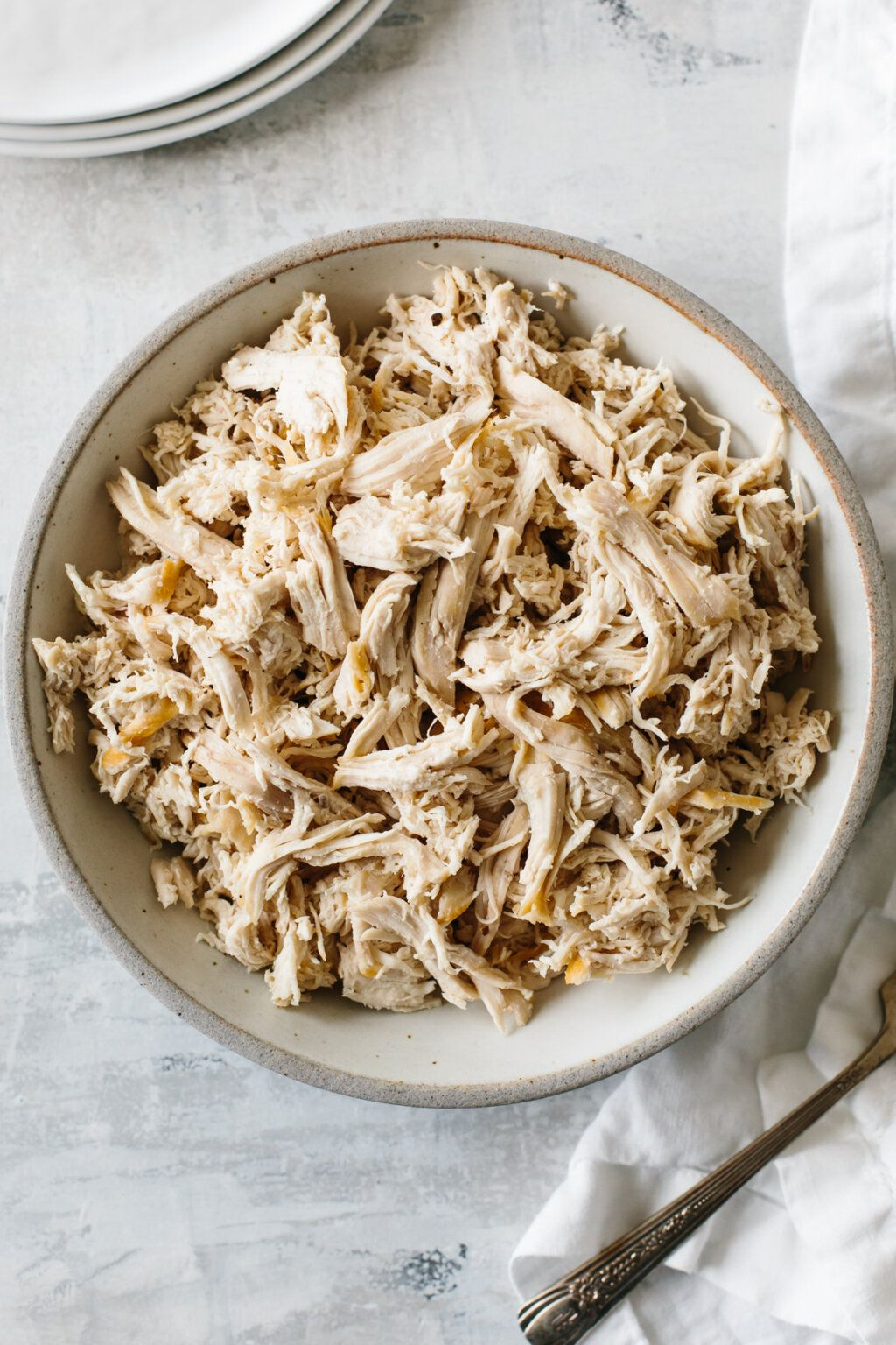 How To Make Shredded Chicken Super Easy Downshiftology Make Shredded Chicken Shredded Chicken Recipes Chicken Recipes