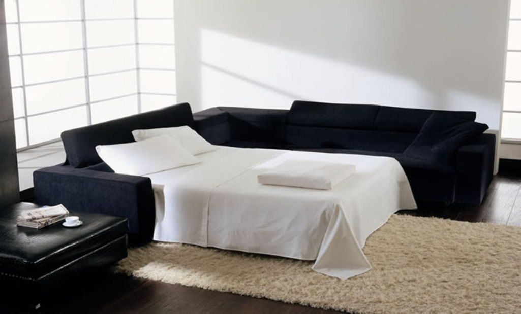 Navy Blue Velvet Sectional Sofa Modern Sleeper Sofa Sectional Sleeper Sofa Modern Sofa Bed