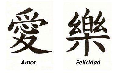Simboloschinos Idioma Simbolos Chinos Letra China Amor