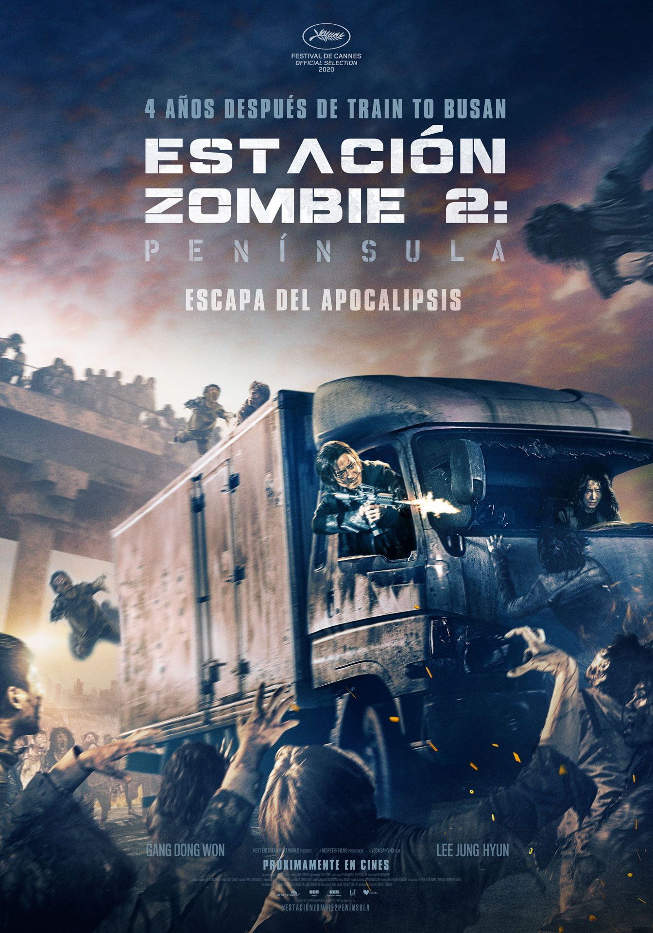 Estacion Zombie 2 Peninsula Lanza Trailer Oficial Ver Peliculas Ver Peliculas Gratis Online Ver Peliculas Gratis
