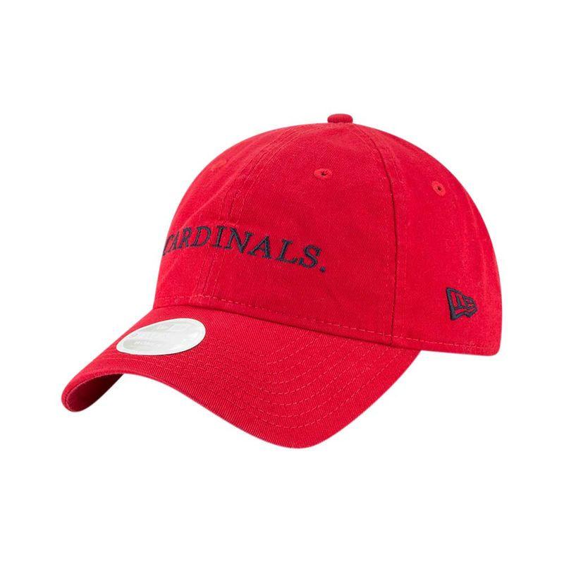 on sale a539f 9f61b St. Louis Cardinals New Era Women s Team Stated 9TWENTY Adjustable Hat – Red