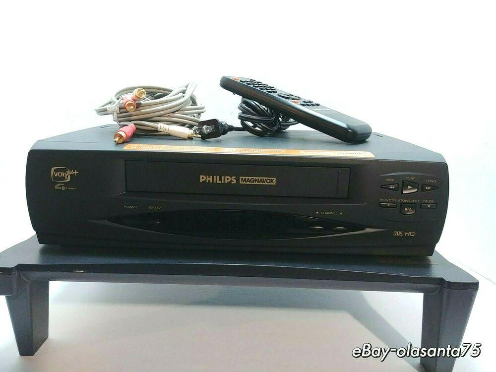 Philips Magnavox VRX242AT01 VHS Player 4 Head Hi-Fi VCR
