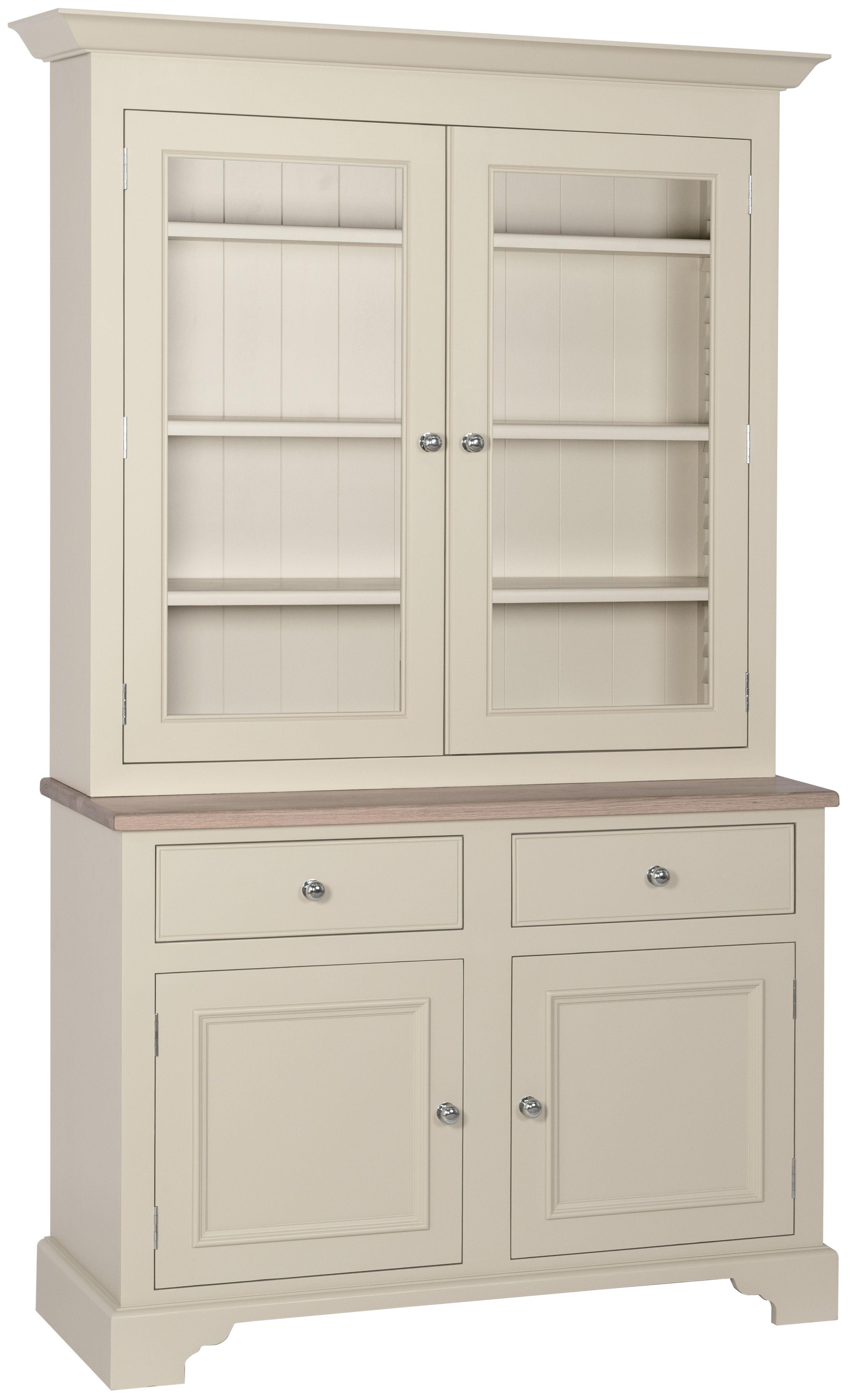 Neptune Chichester Glazed Rack Dresser, 4ft