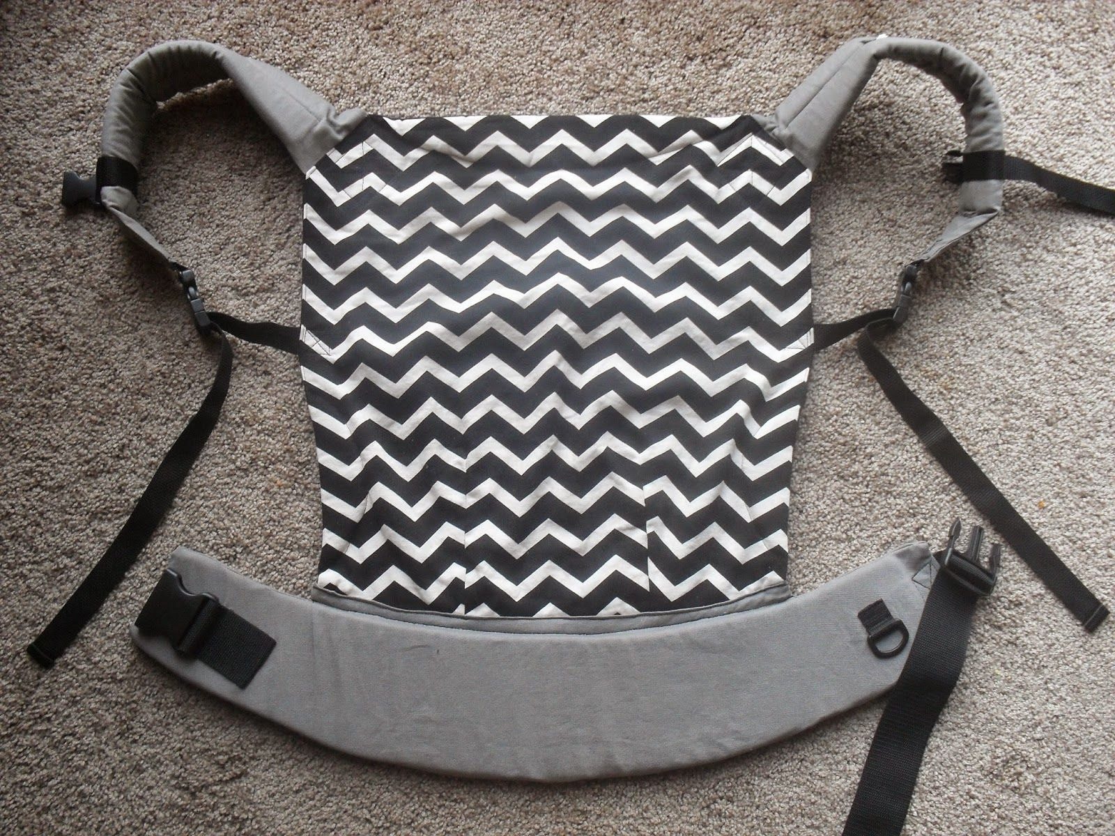 Toddler Ssc Pattern And Instructions Based Off Of The Ergo Baby
