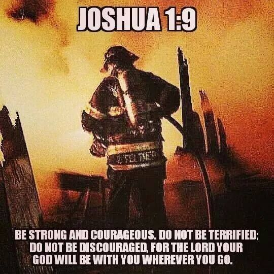 Firefighters | Scripture | Firefighter quotes, Firefighter