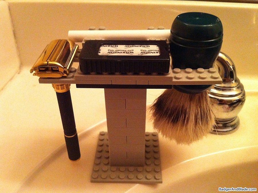 safety razor stand diy Google Search Shaving