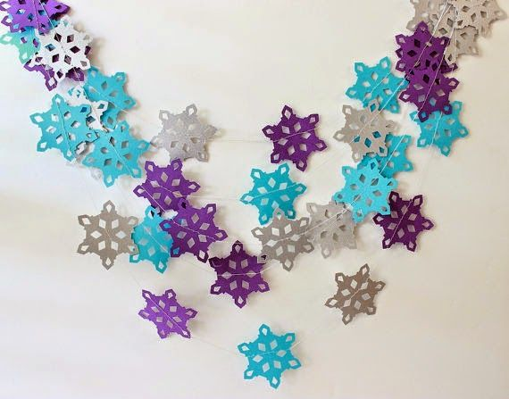 C mo hacer copos de nieve de papel f cil paper moon navidad and ideas para - Cosas de navidad para hacer en casa ...