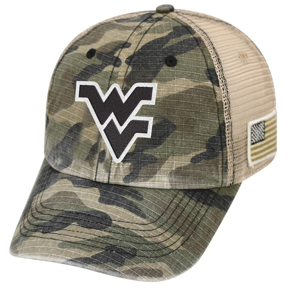cheap for discount 9e705 5a19d Adult Top of the World West Virginia Mountaineers Declare One-Fit Cap,  Men s, Green Oth